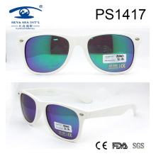 Beautiful Japanese White Frame Plastic Sunglasses (PS1417)